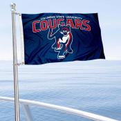 Columbus State Cougars Boat and Mini Flag