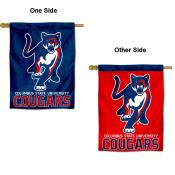 Columbus State Cougars Double Sided House Flag