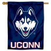Connecticut Huskies Decorative House Banner