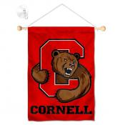 Cornell Big Red Banner with Suction Cup