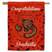 Cornell Big Red Congratulations Graduate Flag