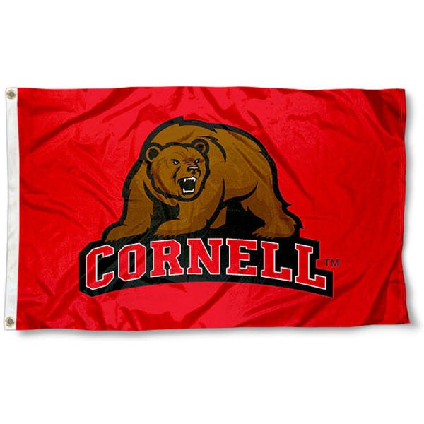 Cornell Big Red Flag measures 3'x5', is made of 100% poly, has quadruple stitched sewing, two metal grommets, and has double sided Cornell Big Red logos. Our Cornell University Big Red Flag is officially licensed by the selected university and the NCAA