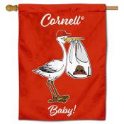 Cornell Big Red New Baby Flag