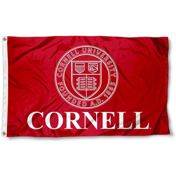 Cornell Insignia Logo Flag measures 3x5 feet, is made of 100% polyester, offers quadruple stitched flyends, has two metal grommets, and offers screen printed NCAA team logos and insignias. Our Cornell Insignia Logo Flag is officially licensed by the selected university and NCAA.