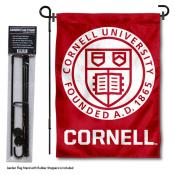 Cornell University Garden Flag and Stand