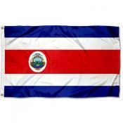Costa Rica Flag 3x5 Printed Flag