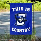 Creighton Bluejays Country Garden Flag