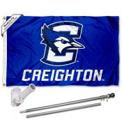 Creighton Bluejays Flag Pole and Bracket Kit
