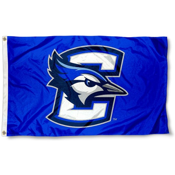 Creighton Logo Outdoor Flag measures 3'x5', is made of 100% poly, has quadruple stitched sewing, two metal grommets, and has double sided Creighton University logos. Our Creighton University Logo Outdoor Flag is officially licensed by the selected university and the NCAA.