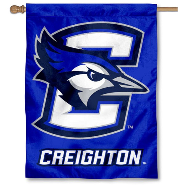 Creighton University Banner Flag is a vertical house flag which measures 30x40 inches, is made of 2 ply 100% polyester, offers dye sublimated NCAA team insignias, and has a top pole sleeve to hang vertically. Our Creighton University Banner Flag is officially licensed by the selected university and the NCAA.