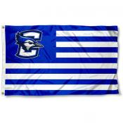 Creighton University Stripes Flag
