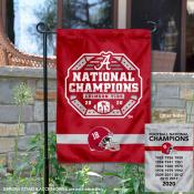 Crimson Tide 18x and 2020 College Football National Champions Yard Flag