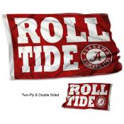 Crimson Tide Roll Tide Flag