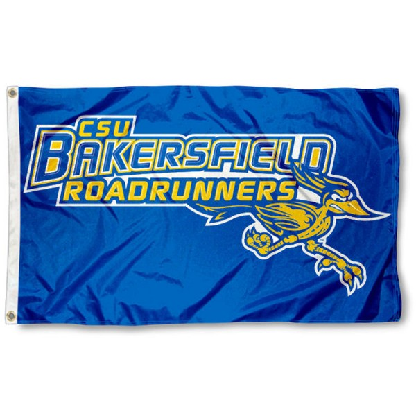 CSBU Road Runners 3x5 Flag is made of 100% nylon, offers quad stitched flyends, measures 3x5 feet, has two metal grommets, and is viewable from both side with the opposite side being a reverse image. Our CSBU Road Runners 3x5 Flag is officially licensed by the selected college and NCAA