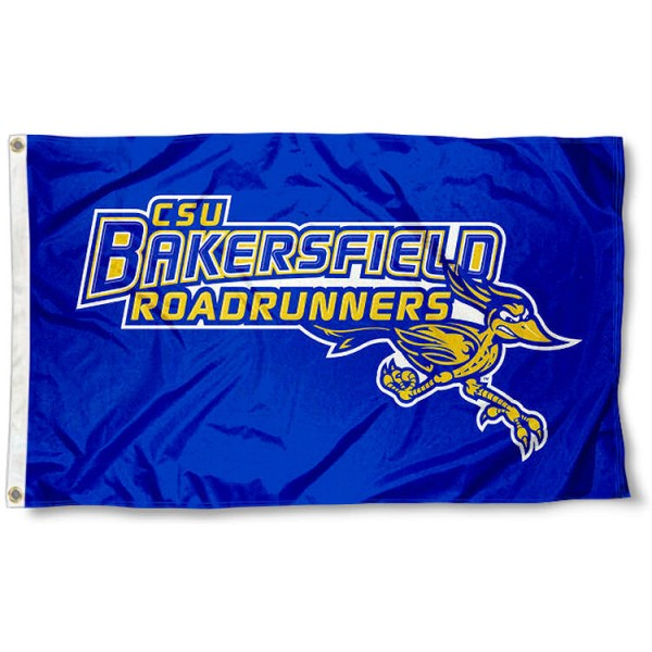 CSBU Road Runners Blue Flag measures 3x5 feet, is made of 100% polyester, offers quadruple stitched flyends, has two metal grommets, and offers screen printed NCAA team logos and insignias. Our CSBU Road Runners Blue Flag is officially licensed by the selected university and NCAA.