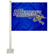 CSBU Road Runners Car Window Flag