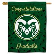 CSU Rams Congratulations Graduate Flag