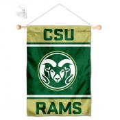 CSU Rams Window and Wall Banner