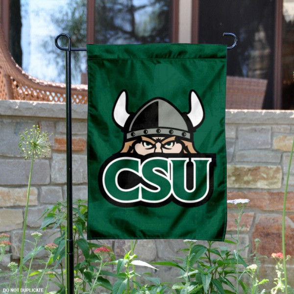 CSU Vikings Garden Flag is 13x18 inches in size, is made of 2-layer polyester, screen printed CSU Vikings athletic logos and lettering. Available with Same Day Express Shipping, Our CSU Vikings Garden Flag is officially licensed and approved by CSU Vikings and the NCAA.