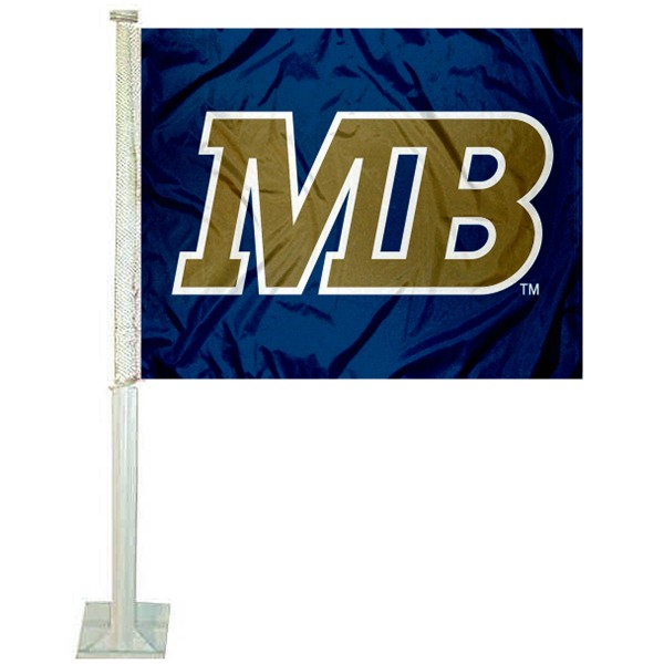 CSUMB Otters Logo Car Flag measures 12x15 inches, is constructed of sturdy 2 ply polyester, and has screen printed school logos which are readable and viewable correctly on both sides. CSUMB Otters Logo Car Flag is officially licensed by the NCAA and selected university.