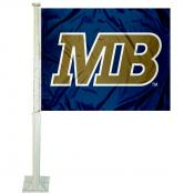 CSUMB Otters Logo Car Flag