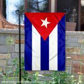Cuba Double Sided Garden Flag
