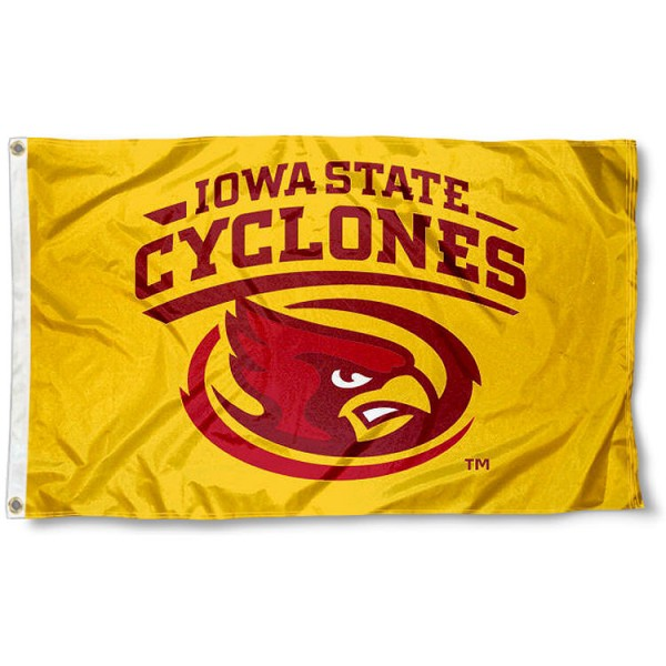 Cyclones Flag measures 3x5 feet, is made of 100% polyester, offers quadruple stitched flyends, has two metal grommets, and offers screen printed NCAA team logos and insignias. Our Cyclones Flag is officially licensed by the selected university and NCAA