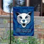 Daemen Wildcats Logo Garden Flag