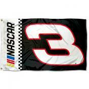 Dale Earnhardt 3x5 Large Banner Flag