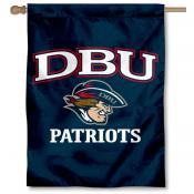 Dallas Baptist Patriots Double Sided House Flag