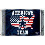 Dallas Cowboys Americas Team Flag