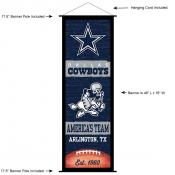Dallas Cowboys Decor and Banner