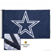 Dallas Cowboys Embroidered Nylon Flag