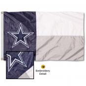 Dallas Cowboys State of Texas Embroidered Nylon Flag