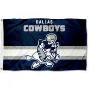 Dallas Cowboys Throwback Retro Vintage Logo Flag