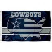 Dallas Cowboys USA Country Flag