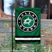 Dallas Stars Circle Logo Garden Flag