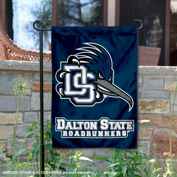Dalton State Roadrunners Garden Flag is 13x18 inches in size, is made of 2-layer polyester, screen printed university athletic logos and lettering, and is readable and viewable correctly on both sides. Available same day shipping, our Dalton State Roadrunners Garden Flag is officially licensed and approved by the university and the NCAA.