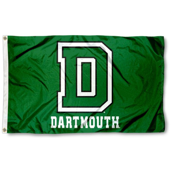 Dartmouth Big Green Athletic Logo Flag is made of 100% nylon, offers quad stitched flyends, measures 3x5 feet, has two metal grommets, and is viewable from both side with the opposite side being a reverse image. Our Dartmouth Big Green Athletic Logo Flag is officially licensed by the selected college and NCAA