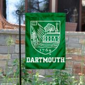 Dartmouth Big Green Crest Garden Flag
