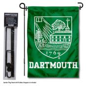 Dartmouth College Garden Flag and Stand