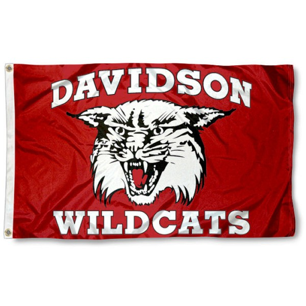 This Davidson Wildcats Flag measures 3'x5', is made of 100% nylon, has quad-stitched sewn flyends, and has two-sided Davidson Wildcats printed logos. Our Davidson Wildcats Flag is officially licensed and all flags for Davidson Wildcats are approved by the NCAA and Same Day UPS Express Shipping is available.
