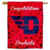 Dayton Flyers Congratulations Graduate Flag