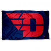 Dayton Flyers Flying D Logo Flag