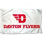 Dayton Flyers White Flag