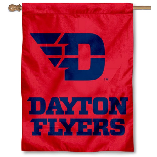 Dayton UD Flyers New Logo House Flag is a vertical house flag which measures 30x40 inches, is made of 2 ply 100% polyester, offers screen printed NCAA team insignias, and has a top pole sleeve to hang vertically. Our Dayton UD Flyers New Logo House Flag is officially licensed by the selected university and the NCAA.