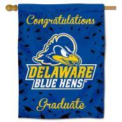 Delaware Blue Hens Congratulations Graduate Flag