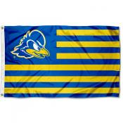 Delaware Blue Hens Stripes Flag