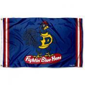 Delaware Blue Hens Throwback Vault Logo Flag