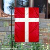 Denmark Double Sided Garden Flag